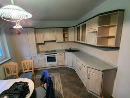 einbau eck küche ohne herd und hochschränke