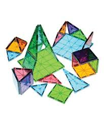 Picasso Magnetic Tiles Uk by Magna Tiles Clear Colors 56 Piece Building Set Zulily