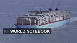 100 Shipping Container Shipping The World Biggest Ship The Majestic Maersk FT World