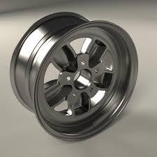100 American Racing Rims For Trucks Classic 200S 16 Inch Rim 3D Model OBJ MTL FBX BLEND