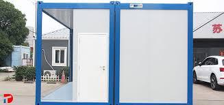 flat pack container house mit einheit badezimmer