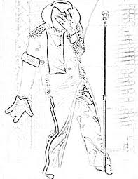 Michael Jackson Coloring Pages Page
