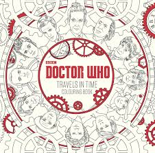 Amazon Doctor Who Travels In Time Colouring Book 9781405927260 BBC Childrens Books