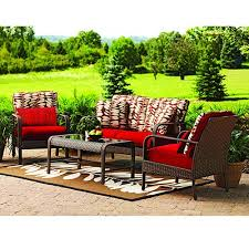 Better Homes And Gardens Patio Furniture Cushions by Better Homes And Gardens Lake Merritt Cushions Walmart Patio