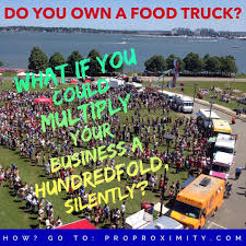 Food Truck Owners: This Is Genius...Proximity Marketing To ... Food Truck Caters Healthy Choices The Collegian What You Need To Know About Starting A Truck How Start Business In 9 Steps Select Theme For Your Restaurant Tampa Area Trucks For Sale Bay Online Pdf Own Prince Georges County Farms 10 Most Popular Food Trucks America Much Does Cost Operate Kumar Pinterest Mashup On Twitter From Our Sioux Falls Tyler And Kimberly Armstrong Simply Pizza Never Closed Fishermans Dog Fed Rockaway Set The