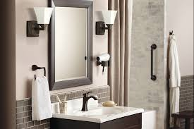 moen voss faucet rubbed bronze moen 6903orb voss one handle high arc bathroom faucet with drain