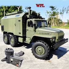 100 Rc Truck And Trailer For Sale Detail Feedback Questions About NEW WPL RC B36 Ural 116 24G