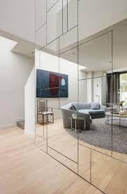 gespiegelte wände modern machen sieben ideen zum stehlen