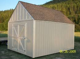 Free 12x16 Gambrel Shed Material List by How To Build A 10x10 Shed Step By 10x12 Plans With Loft Free 12x12