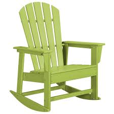 POLYWOOD SBR16LI Lime South Beach Rocking Chair Big Easy Rocking Chair Lynellehigginbothamco Portside Classic 3pc Rocking Chair Set White Rocker A001wt Porch Errocking Easy To Assemble Comfortable Size Outdoor Or Indoor Use Fniture Lowes Adirondack Chairs For Patio Resin Wicker With Florals Cushionsset Of 4 Days End Flat Seat Modern Rattan Light Grayblue Saracina Home Sunnydaze Allweather Faux Wood Design Plantation Amber Tenzo Kave The Strongest