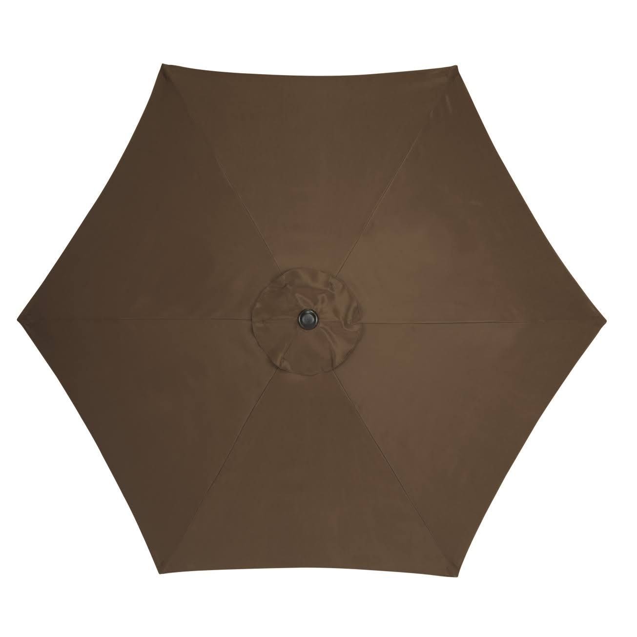 Living Accents Market Umbrella - Brown, 9'