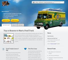 Foodtrucks-website - Rage Agency