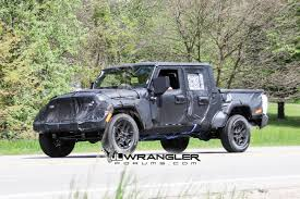 JT Wrangler Truck Testing On Public Roads, Shows Spare Tire Mount ... Custom Jeep Wrangler Truck Jk8 Petes Cave Pinterest Announces Pickup For 2018 Medium Duty Work Info Is The Pickup Making A Comeback Drivgline Hardtops From Rally Tops Sport Truck Accsories 2006 Rubitrux Cversion Billet Actiontruck Jk Kit Teraflex Jeep Jk Jeeps And Trucks Cars Rigid Industries 55001 Headlight Led 7 Trucklite Crew 2016 Sema Bruiser Cversions