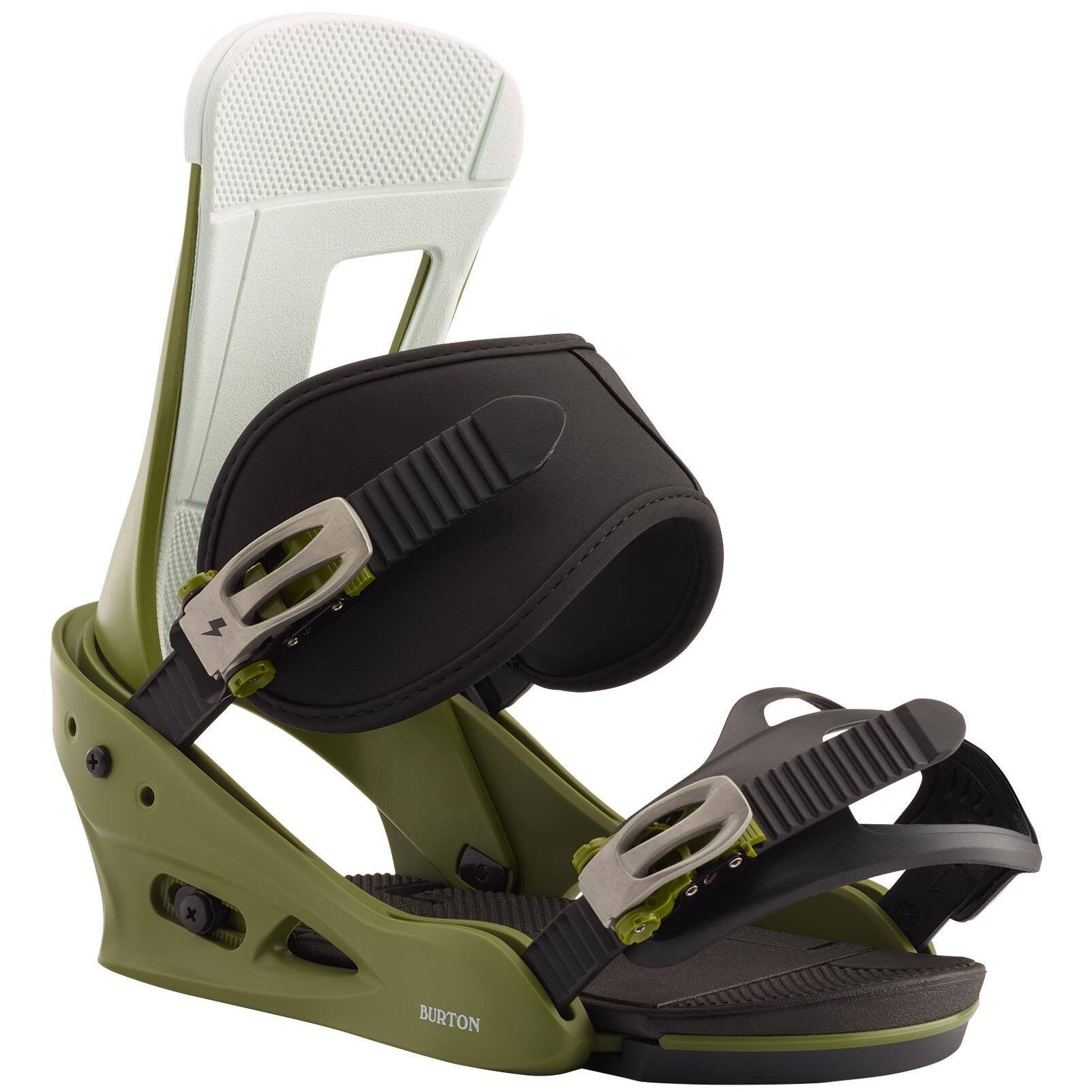 Burton Freestyle Binding 2020 Camp on Green
