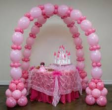 Balloon Decoration Ideas For Birthday Party At Home Kids Decorations S Cake Table