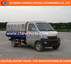China Changan Mini Garbage Truck Small Garbage Truck Smart Garbage ...