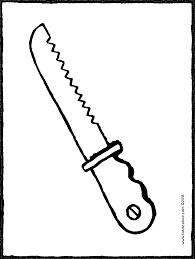 Couteau à Pain Kiddicoloriage