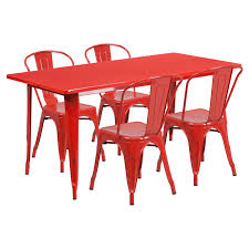Flash Furniture 31.5 X 63 In. Rectangular Metal Indoor-Outdoor Table ... Chairs And Tables The Home Of Truth Stack On Table Clipart Free Clip Art Images 21722 Kee Square Chrome Breakroom 4 Restaurant The 50 From Restoration Hdware New York Times Kobe 72w X 24d Flip Top Laminate Mobile Traing With 2 M Cherry Finish And Burgundy Lifetime 5piece Blue White Childrens Chair Set 80553 Lanzavecchia Wai Collection Includes Hamburger Tables Starsky Stack Table Rattan Of 3 45 Round Adjustable Plastic Activity School