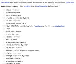 Craigslist: Usability Testing And Redesign Suggestions
