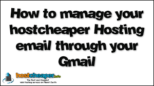 How To Manage Your Hostcheaper Hosting Email Through Your Gmail ... Email Hosting With Your Domain 15 Minute Mondays How To Manage Your Hostcheaper Email Through Gmail Business Plans Genxeg Digitalwurl Web At Its Best 8 Best Images On Pinterest Mahi Host Cporate 30gb With Ox App Suite In Services India Get Life Tips The Noida Service Is From Computehost Neigritty Reviews Expert Opinion Feb 2018 Top 10 New Zealand