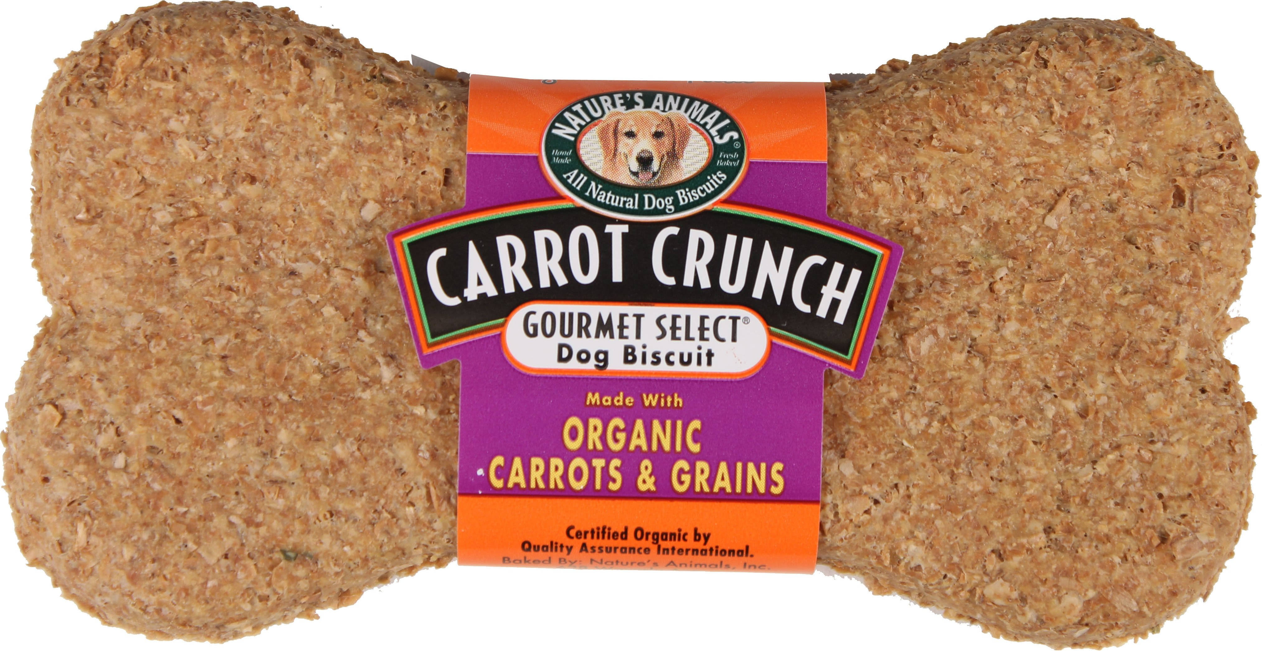Nature's Animals Gourmet Select Organic Carrot 4 inch/24 Pack