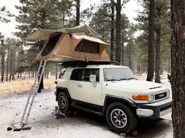 Toyota FJ Cruiser Camping Guide: Roof Top Tent Vs. Overland Trailer ...