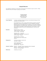 Child Care Resume Objectivesglamorous Good Objective Examples For Customer Service With Example And