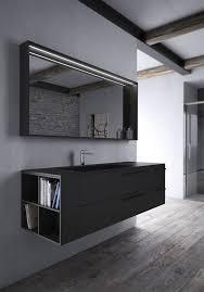badezimmermöbel in schwarzer fenix idfdesign