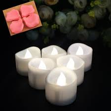 LIANDER Flameless Candles Flickering Timing Warm White LED Tea