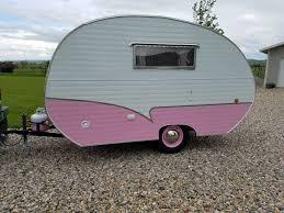 100 Restored Retro Campers For Sale 1956 Siesta Travel Trailer For Vintage Camper For