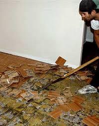 remove parquet flooring types how