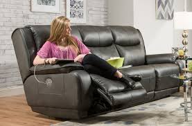 velocity 875 power headrest reclining sofa sofas and sectionals