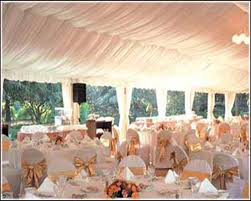 Beautiful Outdoor Tent Reception