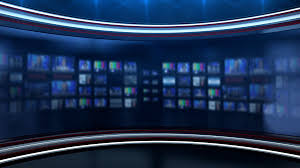 Breaking News Background Stock Video Footage