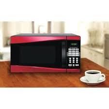 Hamilton Beach Red Microwave Digital Cu Ft Power Level Child Safety