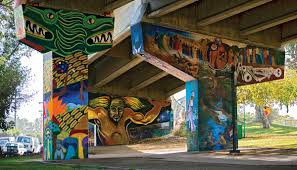 Chicano Park Murals Restoration by An Iconic San Diego Park Is Now A National Historic Landmark