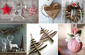Amazing Design Ideas Rustic Christmas Decorations For Interior