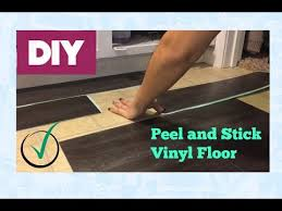 peel and stick vinyl floor install araceli chan home family diy