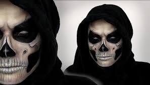 Halloween Half Mask Makeup by Grim Reaper Makeup Tutorial For Halloween Shonagh Scott Showme