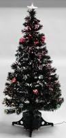 6ft Fibre Optic Christmas Tree Black by 3ft Black Christmas Tree Christmas Lights Decoration