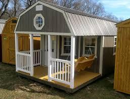 amish built modular garage shed cabin barn tiny house no credit