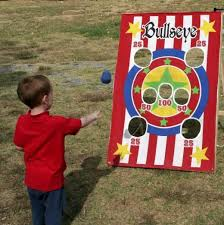 Bean Bag Toss Start Out Up Close And Then Get Farther Back Each Time You Can It Forth To Other As Well Not Just Into A Bucket