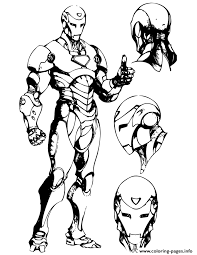 Iron Man Drawing For Teenagers Coloring Pages Print Download 456 Prints