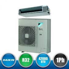 daikin rzasg125mv1 fda125a skyair advance series r32 ducted monosplit kit dc inverter high prevalence 42000 btu single phase