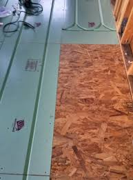 Pex Radiant Floor Heating by Tiny House Update Radiant Floor Heating Install On The Green