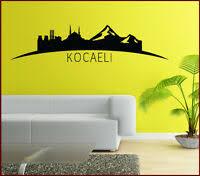 wandtattoo skyline izmir türkei türkisch wohnzimmer istanbul