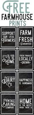 Rustic Tin Inspired Free Farmhouse Printables