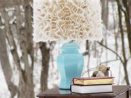 Lampshades Are Like Throw Pillows When Youre In Need Of A Quick And Inexpensive Fix To Change Up Room Here Is Simple Anthropologie Inspired DIY Shade