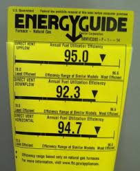 How To Read The Energy Guide Label On Your Furnace