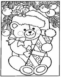 Free Printable Christmas Coloring Pages 14